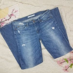 Joe's Jeans Provocateur Distressed Denim Sz 29